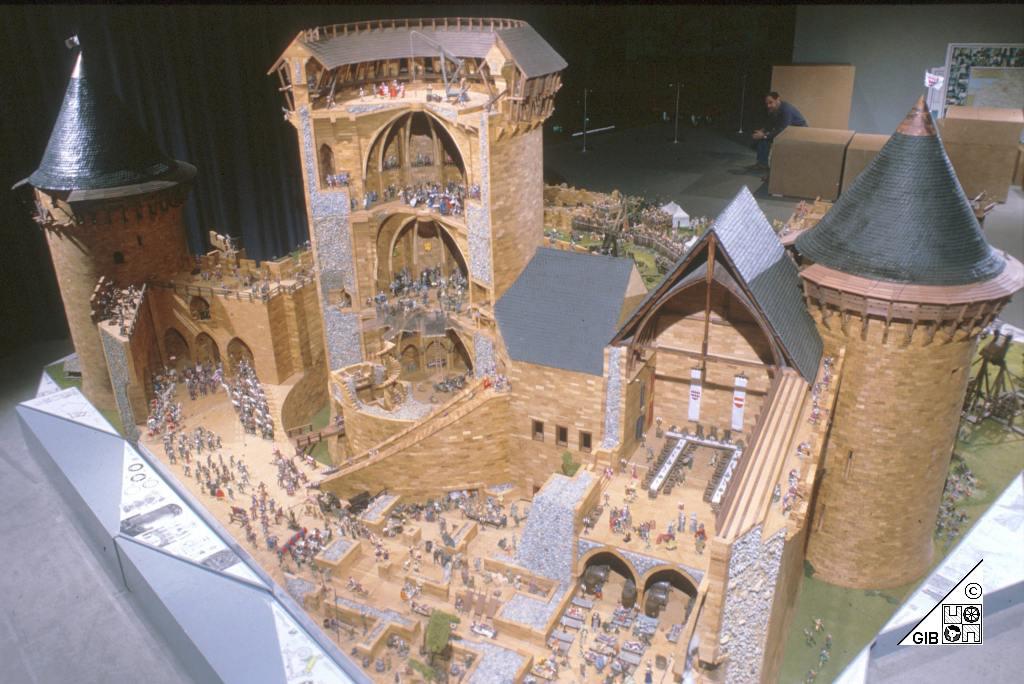 Модель замков своими руками 503
